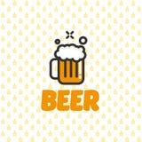 Ícone da caneca de cerveja Foto de Stock