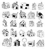 Ícone da casa, ilustração do vetor Foto de Stock Royalty Free