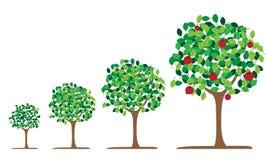 Ícone da cereja da árvore Imagem de Stock Royalty Free
