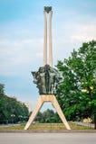 Ícone da cidade de Tychy no Polônia Imagem de Stock