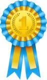 Ícone da concessão do primeiro prêmio Imagens de Stock Royalty Free