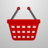 Ícone da cor do carrinho de compras Ilustração do Vetor