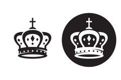 Ícone da coroa Imagem de Stock