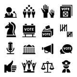 Ícone da democracia ilustração stock