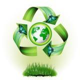 Ícone da ecologia Imagens de Stock Royalty Free