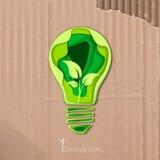 Ícone da economia de energia Foto de Stock