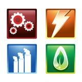 Ícone da energia Fotos de Stock