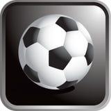 Ícone da esfera de futebol Imagem de Stock Royalty Free