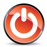 Ícone da espera da potência Foto de Stock