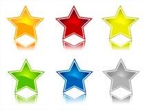 Ícone da estrela Imagens de Stock