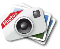 Ícone da foto Foto de Stock