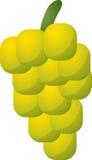 Ícone da fruta das uvas ilustração royalty free
