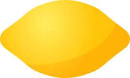 Ícone da fruta do limão ilustração royalty free