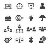 Ícone da gestão ilustração stock