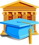 Ícone da graduação Imagens de Stock