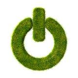 Ícone da grama do poder Imagens de Stock