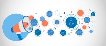 ícone da gravata Do grupo de compra ilustração royalty free