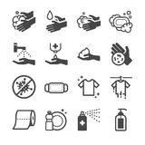 Ícone da higiene ilustração do vetor