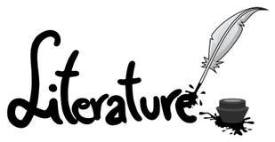 Ícone da literatura ilustração royalty free
