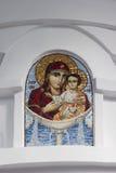 Ícone da mãe do deus Fotografia de Stock Royalty Free