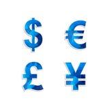 Ícone da moeda Fotografia de Stock Royalty Free