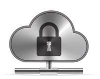 Ícone da nuvem Imagem de Stock