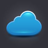 Ícone da nuvem Imagens de Stock Royalty Free