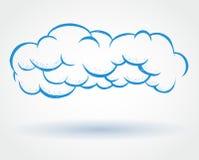 Ícone da nuvem Fotos de Stock Royalty Free
