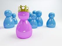 Ícone da rainha Imagem de Stock