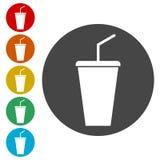 ícone da soda ilustração royalty free