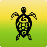 Ícone da tartaruga Fotos de Stock Royalty Free