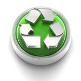 Ícone da tecla: Recicl Imagem de Stock