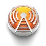 Ícone da tecla: WiFi ilustração royalty free
