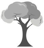 Ícone das árvores Fotografia de Stock