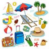 Ícone das horas de verão. ilustração do vetor