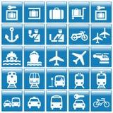 Ícone das posições do turista Imagem de Stock