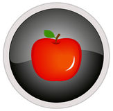 Ícone de Apple Foto de Stock Royalty Free