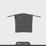 Ícone de confecção de malhas para a Web e o móbil Fotos de Stock