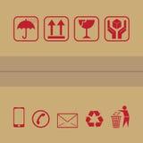 Ícone de empacotamento Imagens de Stock