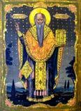Ícone de Haralambos de Saint Fotos de Stock Royalty Free