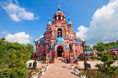 Ícone de Kazan da catedral, Irkutsk imagem de stock