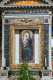 Ícone de Madonna com Jesus infantil Imagem de Stock Royalty Free
