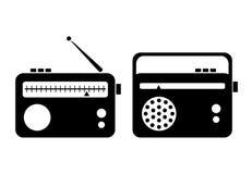 Ícone de rádio Imagens de Stock Royalty Free