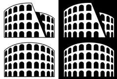Ícone de Roma - coliseu Imagens de Stock