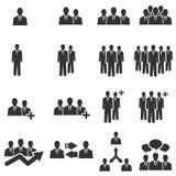 Ícone de Team People Imagem de Stock