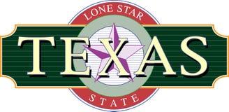 Ícone de Texas Imagens de Stock Royalty Free