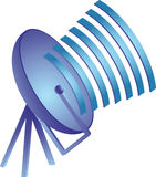 Ícone de uma comunicação Imagens de Stock