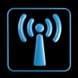 Ícone de Wi-Fi Imagem de Stock