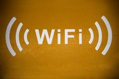 Ícone de Wifi Fotografia de Stock