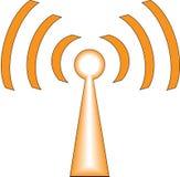 Ícone de WiFi Foto de Stock